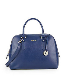 Furla elena medium saffiano leather satchel medium 453899
