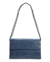 Nancy Gonzalez Genuine Crocodile Shoulder Bag