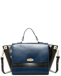 Jack French London George Leather Satchel