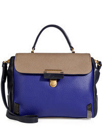Marc by Marc Jacobs Leather Colorblock Top Handle Satchel