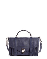 Proenza Schouler Medium Ps1 Y Leather Satchel