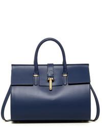 Merci Marie Handbags Chanelle Genuine Leather Bowler