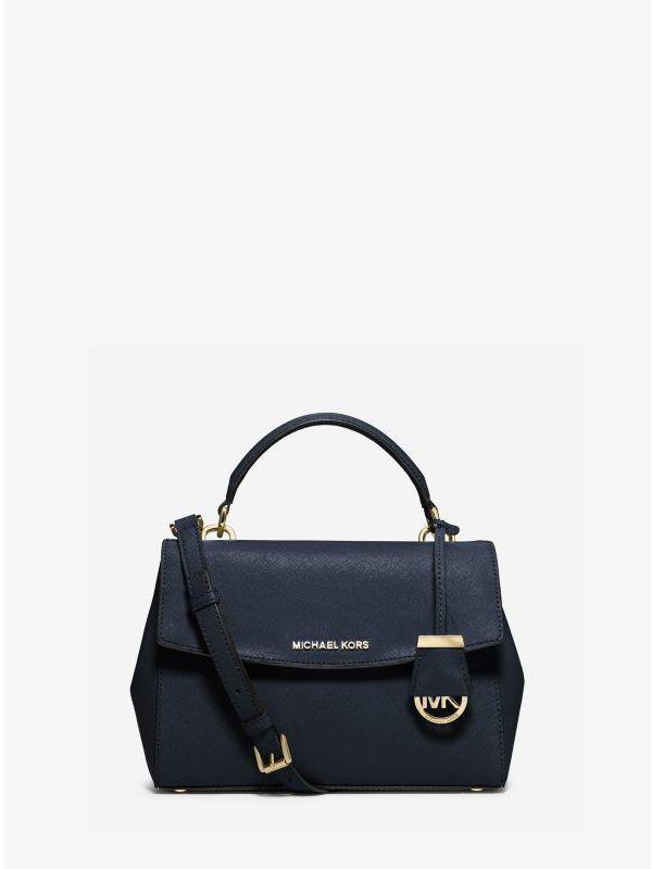 f4844e715a9d ... Bags Michael Kors Michl Kors Ava Small Saffiano Leather Crossbody  Satchel ...