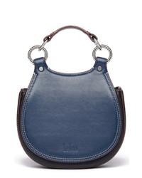behno Tilda Mini Leather Saddle Bag