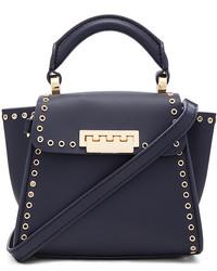 Zac Zac Posen Eartha Grommets Iconic Top Handle Mini Bag