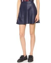 Dakota collective avani leather panel skirt medium 84785