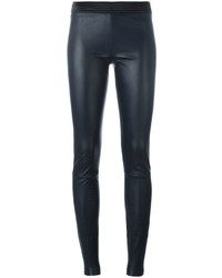 Drome Leather Skinny Trousers