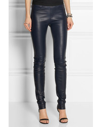 Helmut Lang Stretch Leather Leggings | Where to buy & how to wear