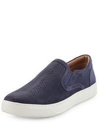 Ace embossed leather slip on sneaker medium 925619