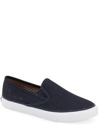 Sperry Seaside Perforated Slip On Sneaker