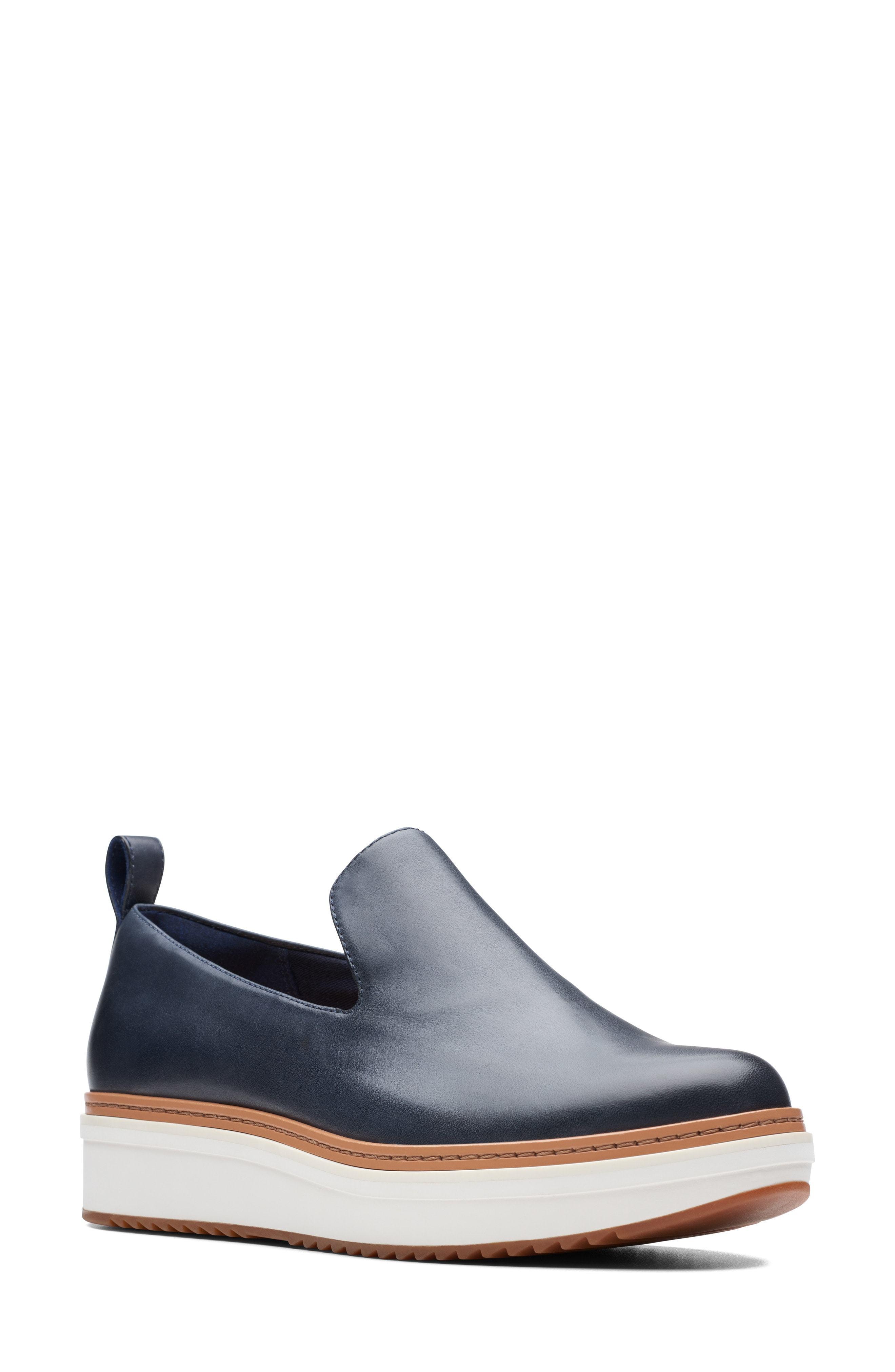 Clarks Teadale Genna Platform Loafer