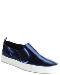 Uri Minkoff Trevi Leather Slip On Sneakers
