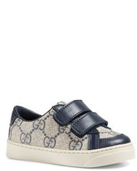 Gucci Babys Toddlers Gg Supreme Grip Tape Sneakers