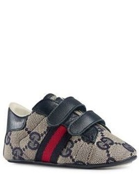 Gucci Infants Leather Sneakers