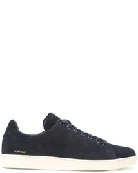 Tom Ford Logo Stamp Sneakers