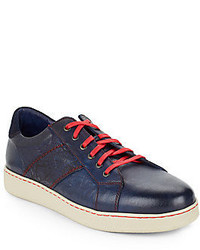 Robert Graham Murphy Leather Sneakers
