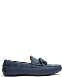 Burberry Knighton Grained Leather Loafers