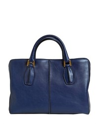 Tod's D Cube Small Soft Leather Tote Bag