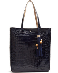 Elizabeth and James Eloise Crocodile Effect Leather Tote