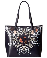 Ted Baker Kyoto Gardens Leather Shopper Handbags