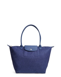 Longchamp Le Pliage Jeans Shoulder Tote