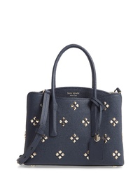 kate spade new york Medium Margaux Embellished Leather Satchel