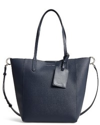 Michl michl kors penny large saffiano convertible leather tote blue medium 3943950