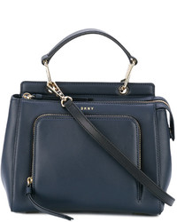 DKNY Mini Zip Pocket Tote