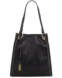 Urban Originals Montana Faux Leather Tote Bag Black