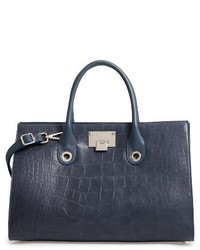 Riley leather tote blue medium 4471846
