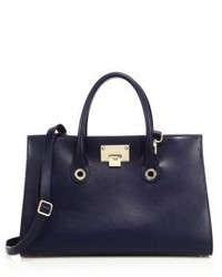 Jimmy Choo Riley Suede Leather Tote