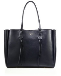 Lanvin Small Tasseled Leather Tote