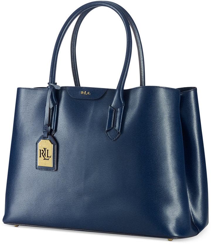bda0336044a0 ... Leather Tote Bags Lauren Ralph Lauren Tate City Tote ...