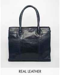 Urban Code Urbancode Leather Double Zip Tote Bag