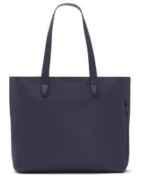 Vince Camuto Tolve Leather Tote Bag Blue