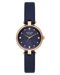 kate spade new york Annadale Leather Watch