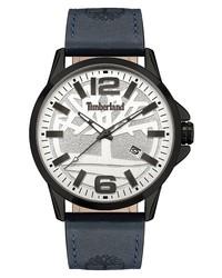 Timberland Bernardston Leather Watch