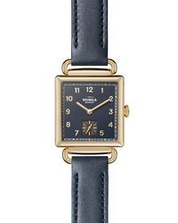 Shinola Cass Leather Watch