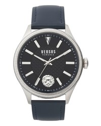 Versus Versace Colonne Leather Watch
