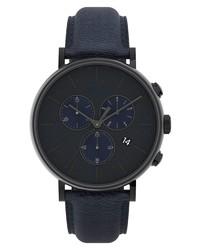 Timex Fairfield Chronograph Leather Watch
