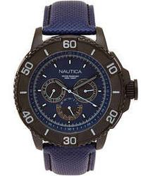Nautica N18644g Black Navy Watch