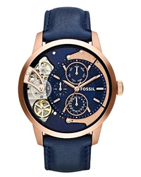 Fossil Townsman Twist Leather Watch