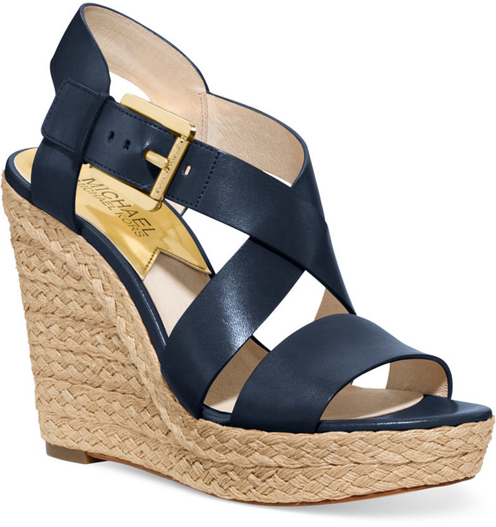 cheapest price real deal separation shoes $150, MICHAEL Michael Kors Michl Michl Kors Giovanna Platform Wedge Sandals