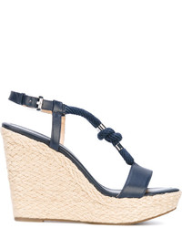 MICHAEL Michael Kors Michl Michl Kors Rope Detail Wedge Sandals
