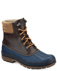 Sperry Cold Bay Leather And Rubber Boots