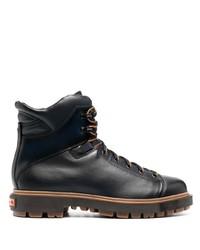 Santoni Lace Up Mountain Boots