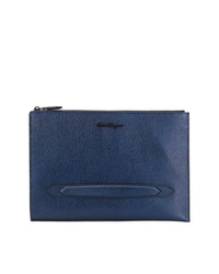 Men s Leather Zip Pouches by Salvatore Ferragamo  e4753ca4373da
