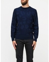 A.P.C. Pull Col Rond Sport Jacquard