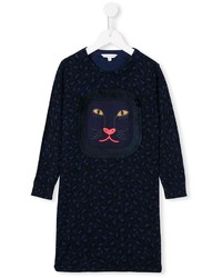Little Marc Jacobs Leopard Knit Dress