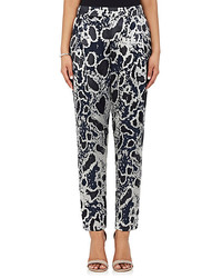 Leopard burnout georgette pants medium 1252336